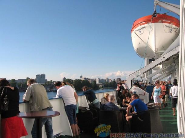 Leaving Russia aboard the Princess Maria