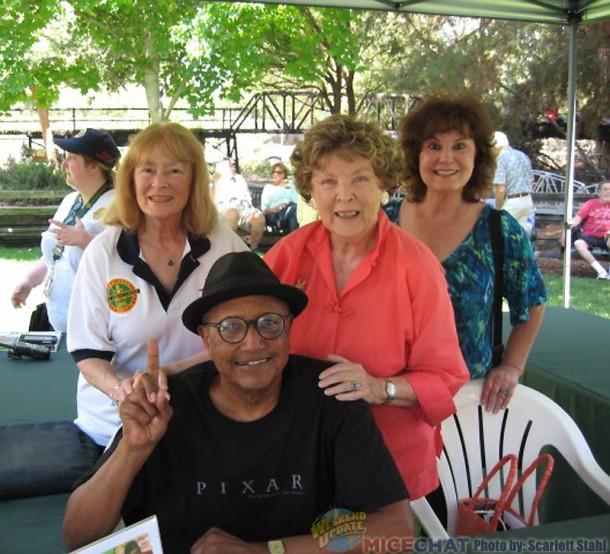 Scarlett Stahl, Floyd Norman, Margaret Tinker Bell, Linda Swisher