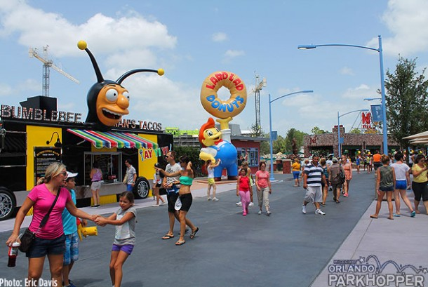 Springfield USA at Universal Orlando