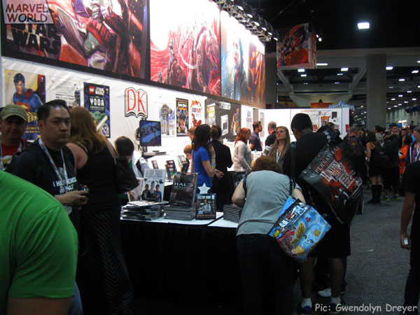 DK Publishing brought their full arsenal of Star Wars publications along with other geek related product.