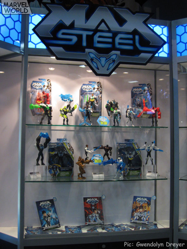 Mattel-Max-Steel-Display