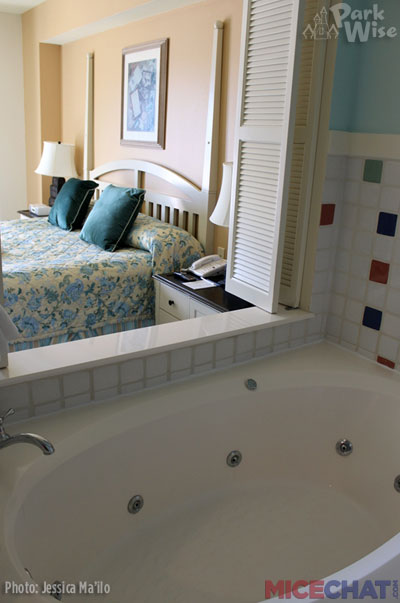 Master bedroom at Boardwalk Villas