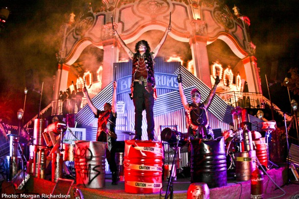 Blood Drums at California's Great America