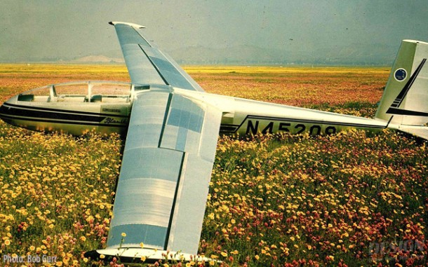 1965 Czech-made Blanik two-place sailplane