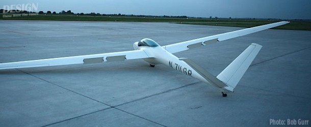 1974 German-made Salto single place aerobatic sailplane