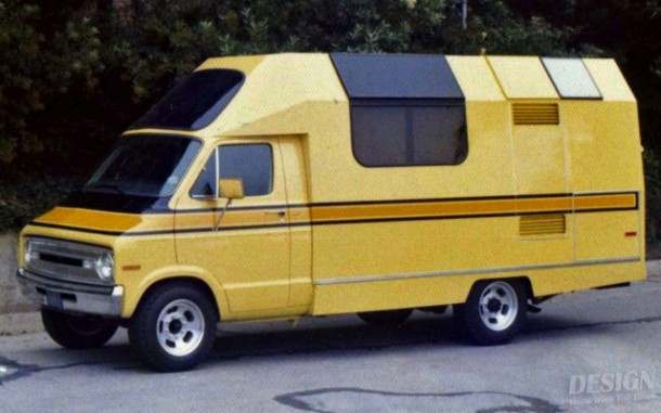 T18-4 Home built motor home - 1973