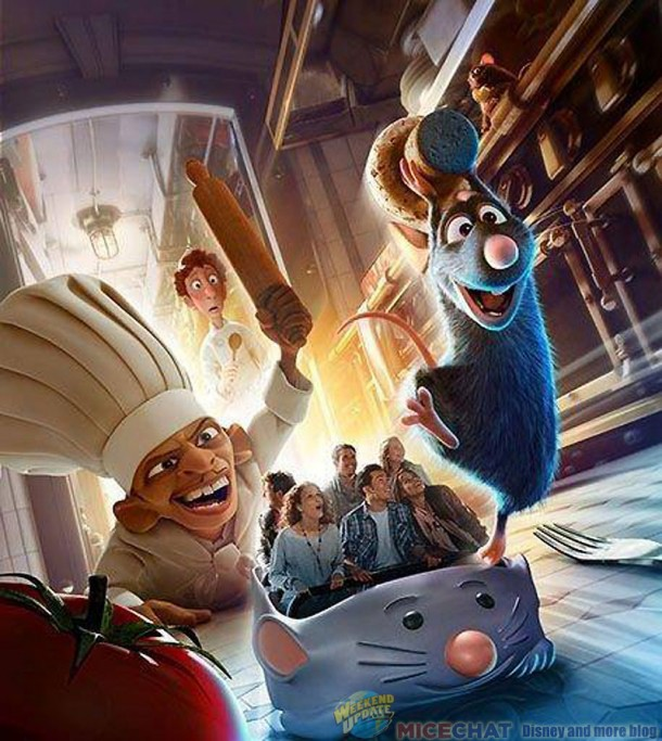 disneyland paris managers reveal official name of new ratatouille ride. Black Bedroom Furniture Sets. Home Design Ideas
