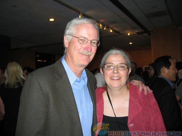 John Musker and Theresa Wiseman
