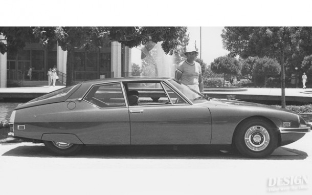 Bob Gurr with his 1971 Citroen-Maserati