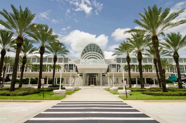 The sheer size of the Orange County Convention Center is beyond impressive.