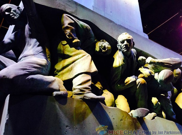 Statues from The Ministry of Magic Museum