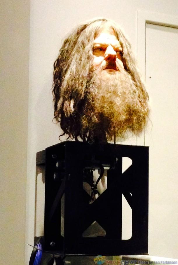 Animatronic Hagrid