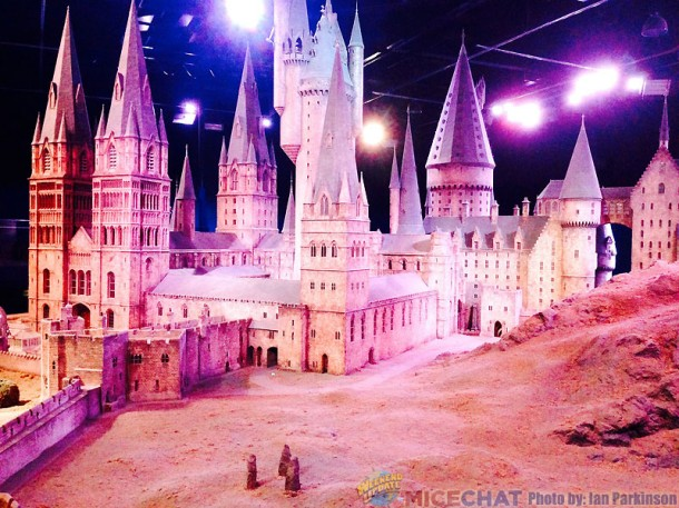 Model of Hogwart's 1:24 Scale