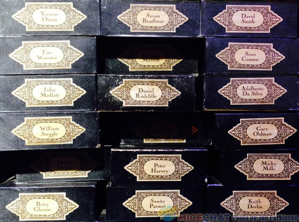 Daniel Radcliff's Wand Box (center)