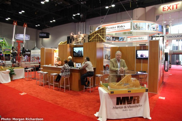 MVR booth.
