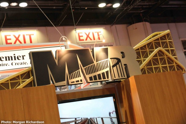 Companies like MVR ensure that wooden coasters were well represented at IAAPA.