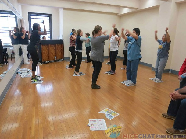 Learning the Newsies Dance