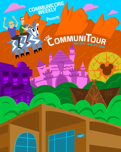 The Limited Edition CommuniTour Poster!