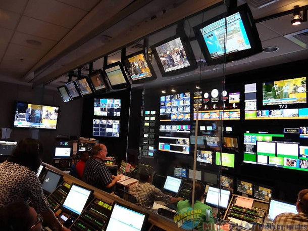 The awesome control room.