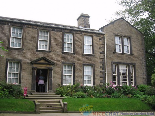 The Bronte family home
