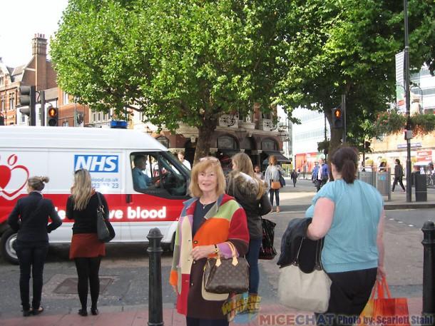 Scarlett in Hammersmith
