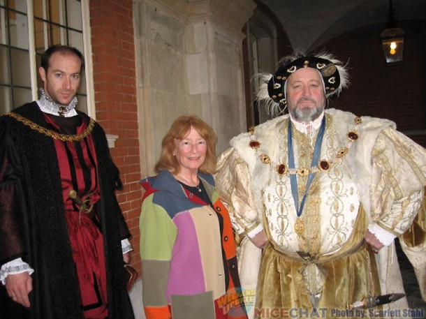 Courtier, Scarlett and King Henry VIII