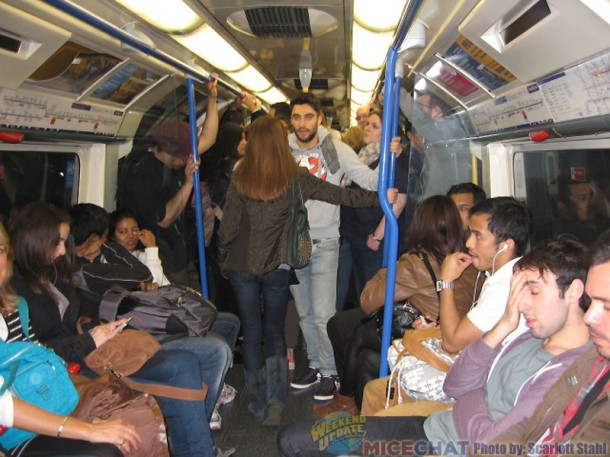 Crowded Underground (subway)