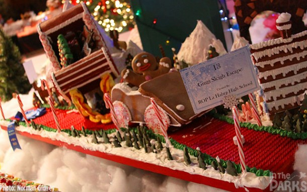 "WINNER - #13 ""Gingi Sleigh Escape"" – Mario Schwarz-Cole & the La Habra High School Culinary ROP class"
