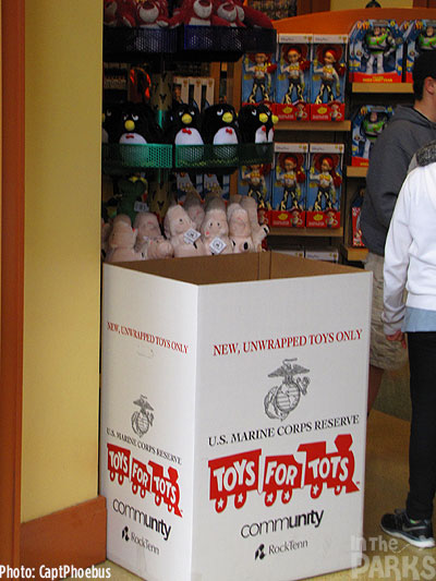 Toys For Tots Promotional Posters : Candlelight this week at the disneyland resort
