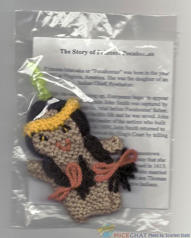 Pocahontas puppet