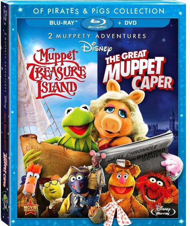 MuppetTreasureIslandTheGreatMuppetCapperBluRay