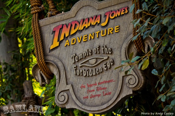 Indiana Jones brought new thrills for Disneyland's 40th anniversary celebration
