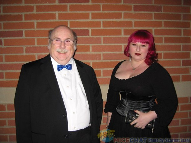 Eric Goldberg with his daughter, Rachel