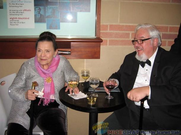 Alice Davis and Tom Sito (both recipents of the June Foray award)