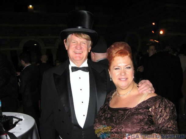 Bill Farmer (Voice of Goofy and Pluto), who acted the part of Winsor McCay, with wife Jennifer