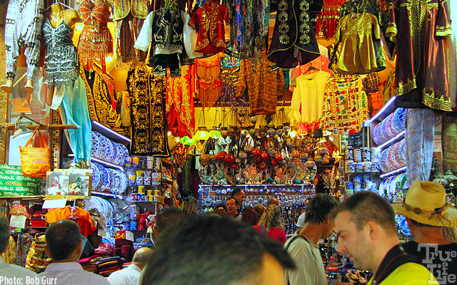 Turkish bazaars offer colorful foods and treasures