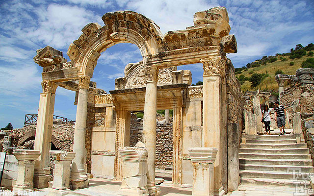 A stone temple at Ephesus