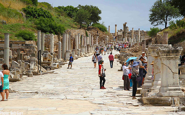 The main street of Ephesus