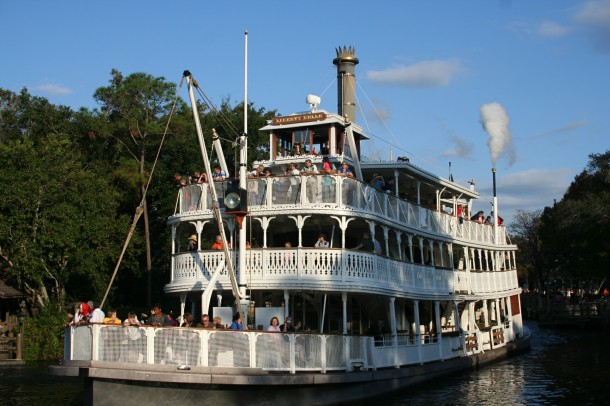 Liberty Belle at the Magic Kingdom