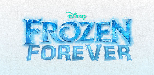 "The ""Frozen Forever"" campaign logo helps Disney executives understand how important the movie is to their company. Hopefully they will actually watch it now too."