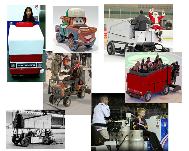 "These exclusive ride vehicle concept photos capture the 'spin, bump and scrape fun"" the entire family will experience on the new ""Disney Zamboni Adventure: Dance Party"" attraction, and let Disney executives actually see what a Disney Theme Park and an attraction in it looks like."