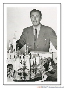 """While most projects had architects doing the designing, Walt Disney relied on his staff of motion picture designers. He envisioned his park as one big movie set, with forced perspective and transitions such as one might see in a movie."""