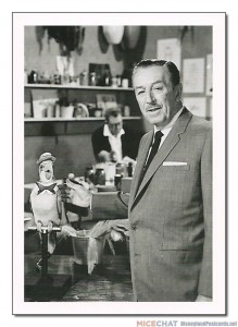 """Walt Disney introduced Audio-Animatronics to Disneyland with the Enchanted Tiki Room in 1963. Audiences were amazed at the talking and singing birds, flowers, and tiki gods."""