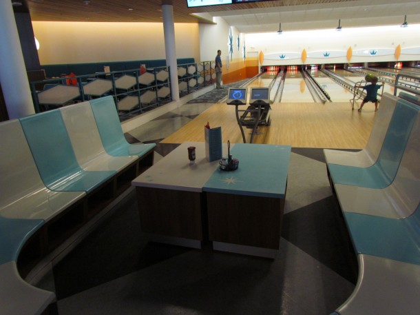 Unrelated image: Cabana Bay at Universal has a bowling alley.