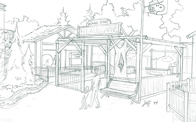 Beagle-Scout-Headquarters-Sketch