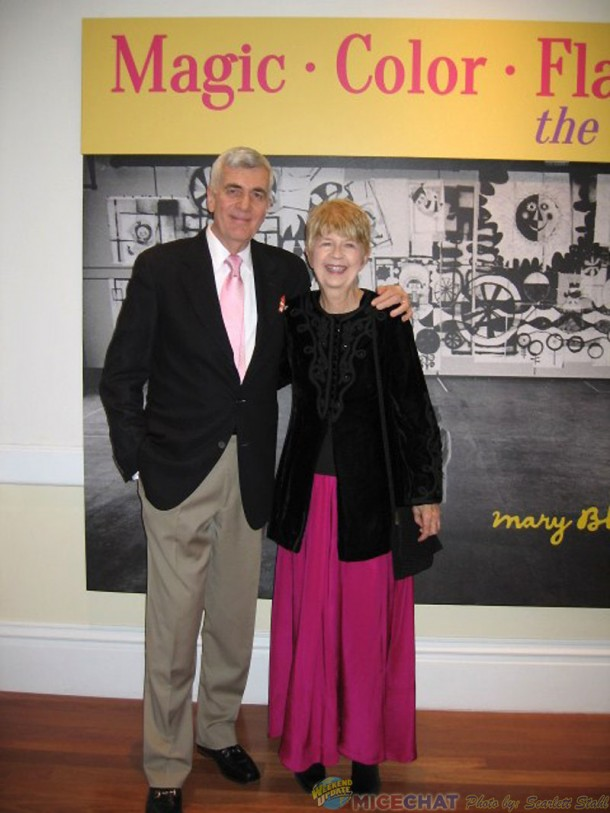 John Canemaker and Maggie Richardson