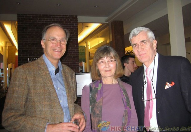 Ted Thomas, his cousin Barbara Jeanette Armentrout, and John Canemaker