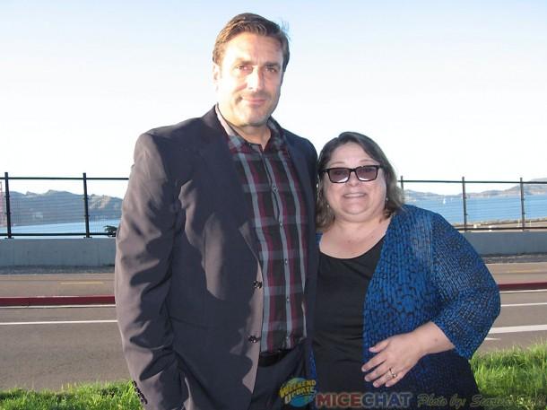Walter Elias Disney Miller and Becky Cline