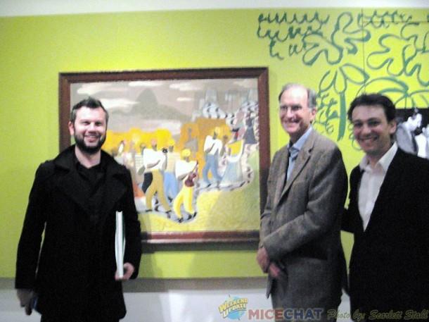 Matt Jones, story artist and designer at Pixar with Ted Thomas and Fabrizio Mancinelli