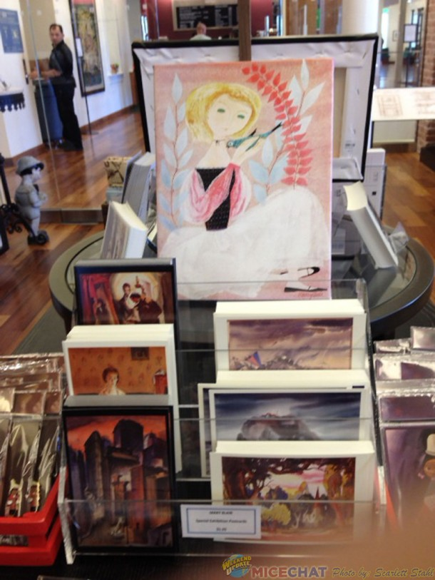 Notecards and small canvas Giclee